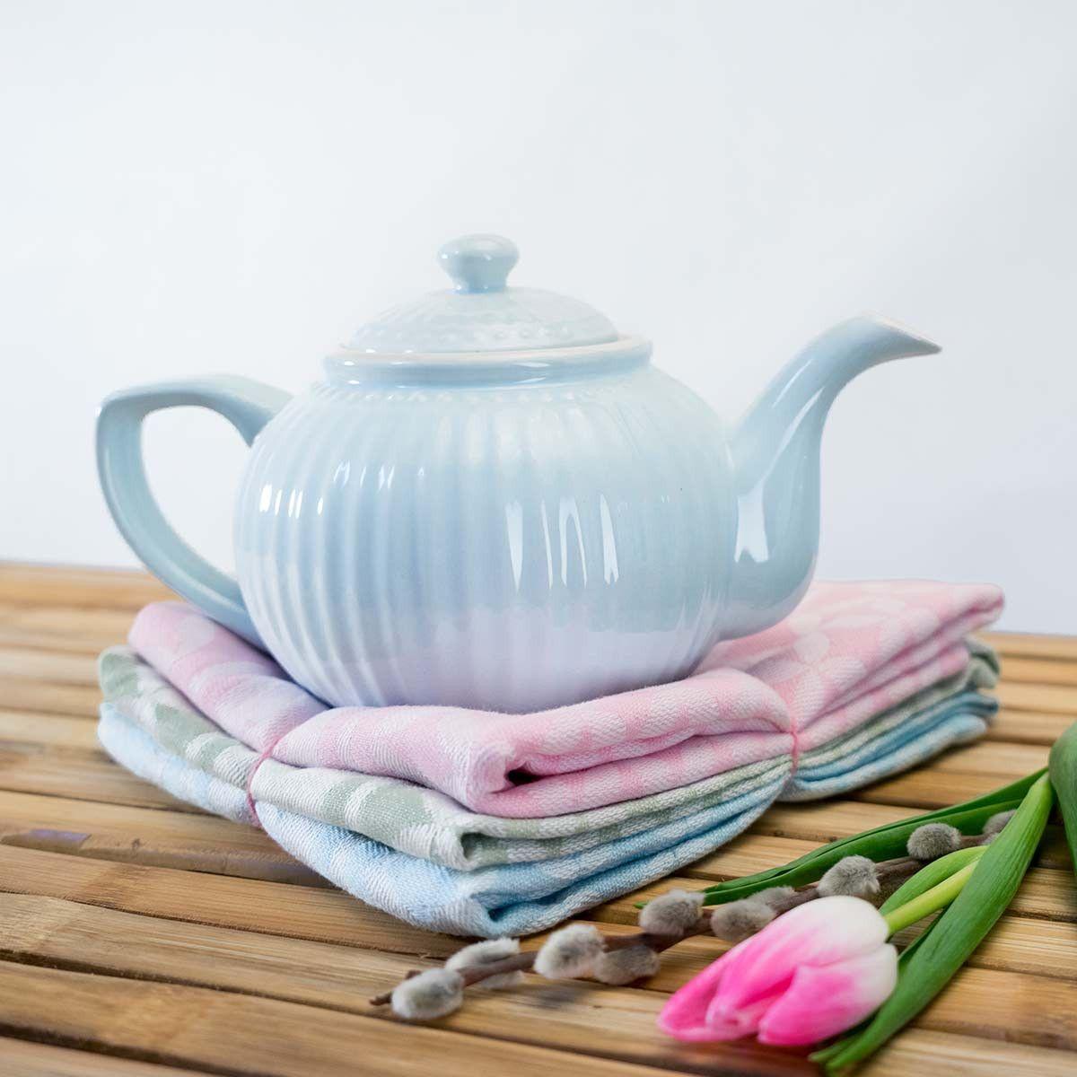 GreenGate Teekanne Alice Pale Blue Für entspannte Teestunden und ...