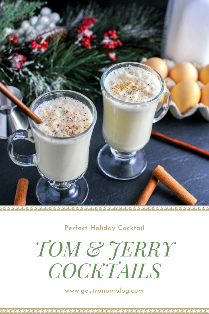 Tom And Jerry A Brandy Cocktail Recipe Rum Cocktails