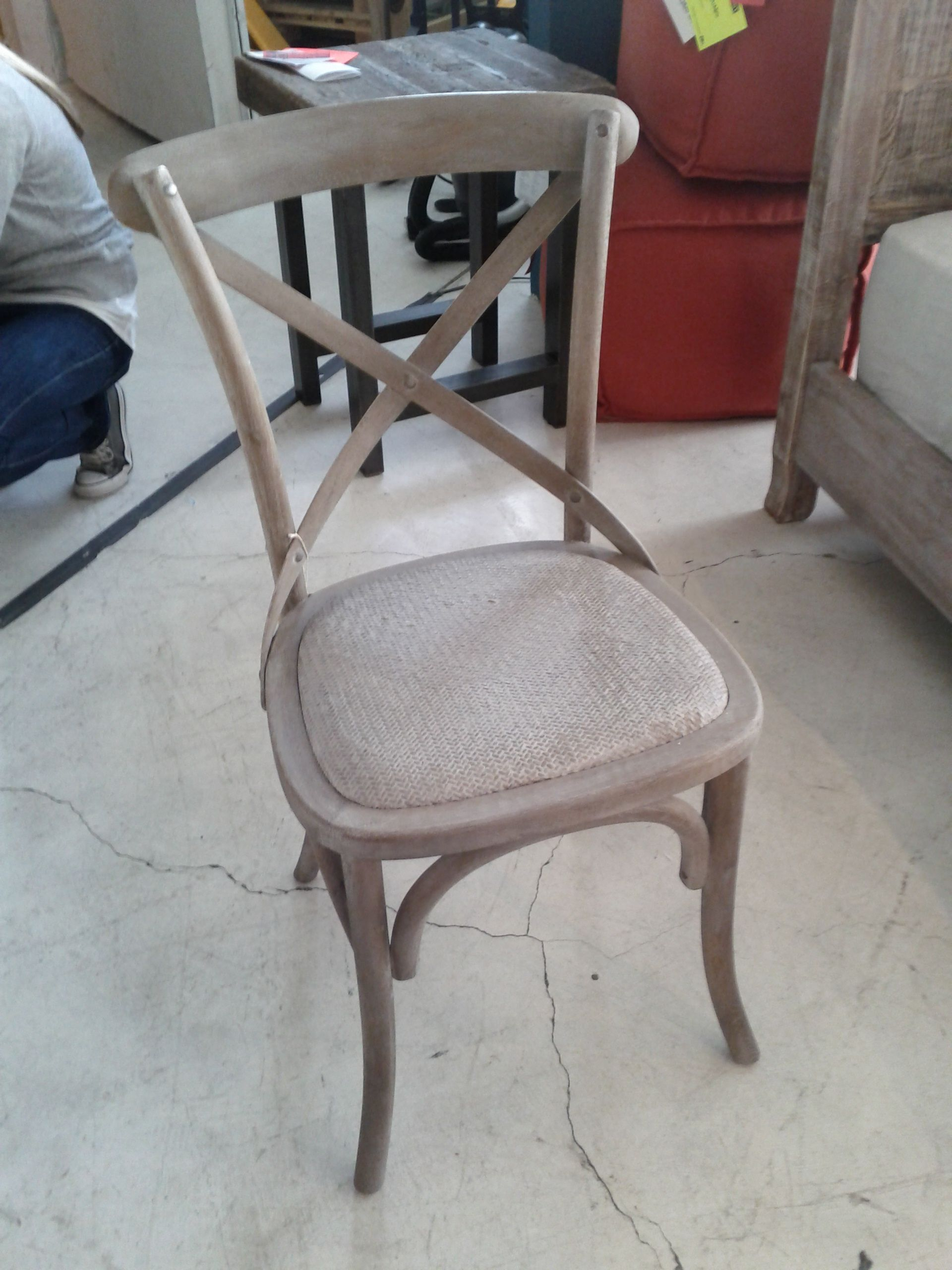 Hd Buttercup Bali Cross Back Chairs For Kitchen Villa