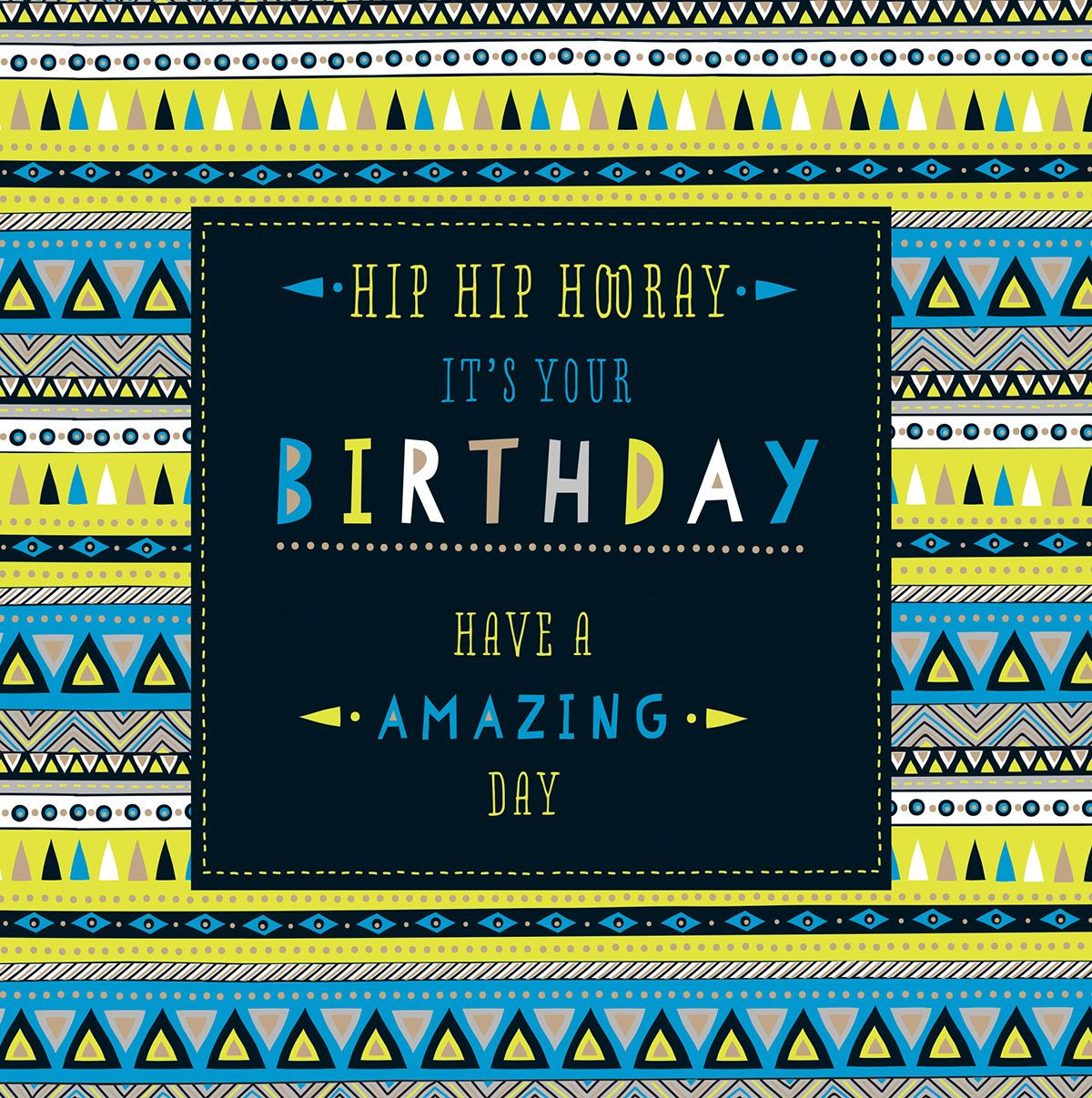 Personalised with your message inside this colourful birthday – Where Can I Buy a Birthday Card