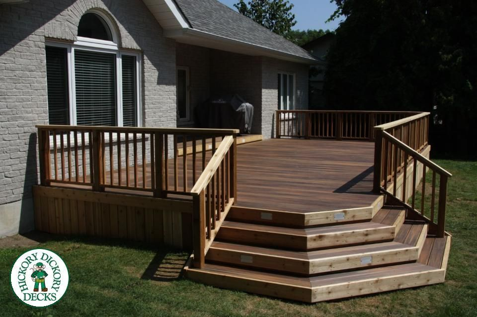 Hickory Dickory Decks! We can do yours. shoot us an email at - premier266@yahoo.com