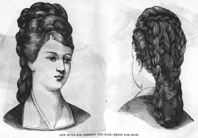 Superb 1000 Images About Historical Hair On Pinterest The Late Short Hairstyles Gunalazisus