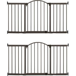 Summer Infant Metal Expansion 6 Foot Wide Extra Tall Walk Thru Gate