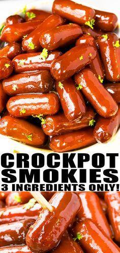 Crockpot Little Smokies Recipe (Cocktail Sausages)