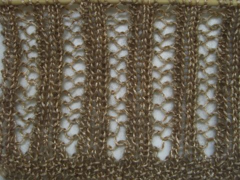 Netzmuster rechte Seite - Lochmuster, Lace Muster | Jacken ...
