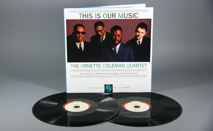 The Ornette Coleman Quartet This Is Our Music 2x12 180g Vinyl Lps Ornette Coleman Coleman Vinyl
