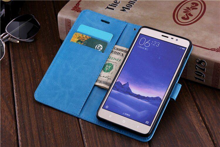 Flip Case For Xiaomi Mi A1 5x Redmi 5a 4x 4a Redmi Note 5a Prime Note 4x Note4 Global Note 3 Pro Y1 Card Holder Cover Xiaomi Case Leather Case