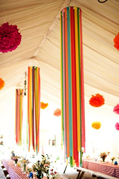 Five fresh ideas for using ribbon streamers at your wedding five fresh ideas for using ribbon streamers at your wedding junglespirit Image collections