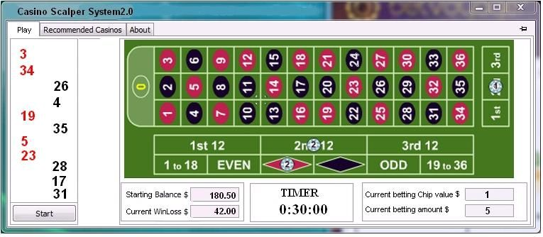 Roulette software free download