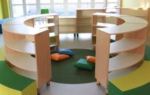 Bibliothek Mobel Rundes Bucherregal In 2020 Schulmobel