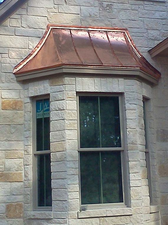Copper Sweep Bay Window Roof By Classiccopperworks On Etsy