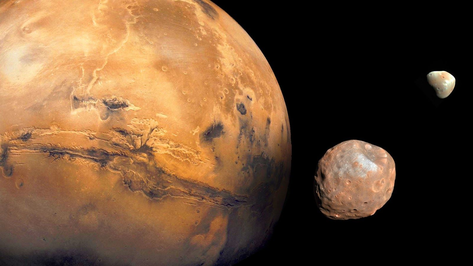Mars Phobos And Deimos Mars Moons Planets Red Planet