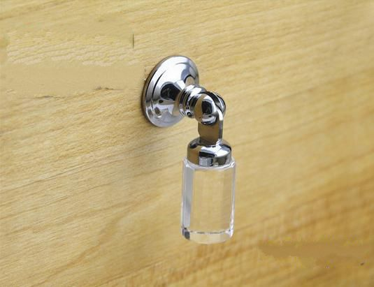 New Shabby Dresser Drop S Gl Drawer Pulls Handles Clear Crystal Cabinet Handle Pull Kitchen Hardware Sparkle