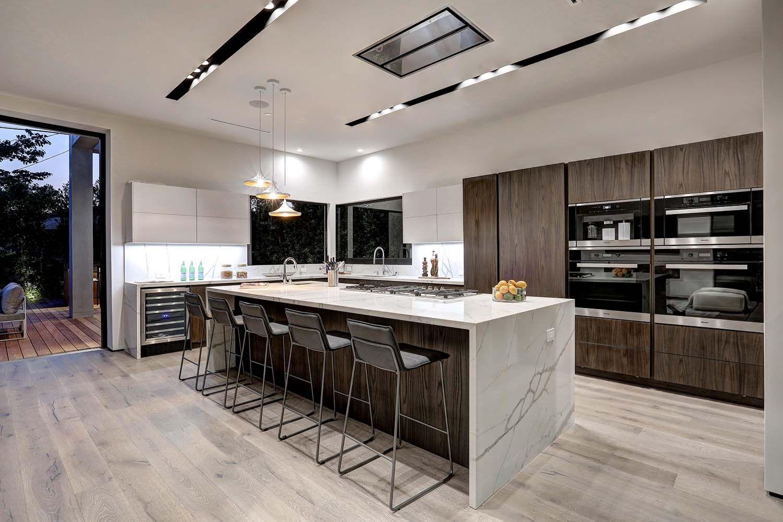 Phenomenal Modern Home With Indoor Outdoor Living In Los Angeles Contemporary Kitchen Modern Kitchen Kitchen Design