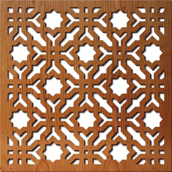 Moroccan Fretwork Panels: Doors On A Cabinet?