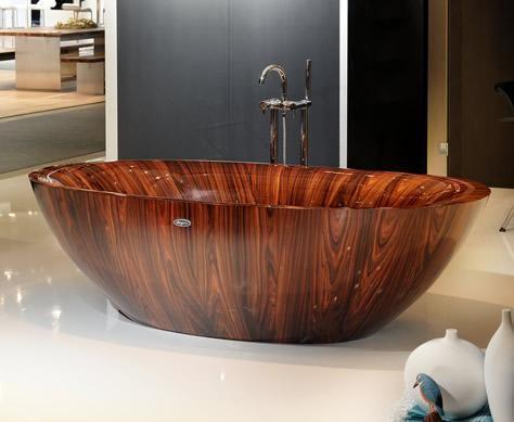Bathtubs Made from Wood Veneer - And Lots of It | Pinterest | Wood ...