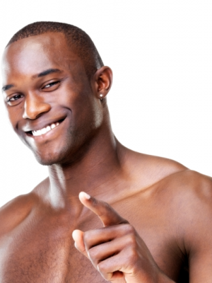 Black mens facial care well