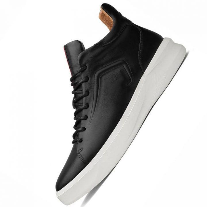 brand new 72cf1 c226b Neue Designer Italien Echtes Leder Männer Knöchel Schuhe ...