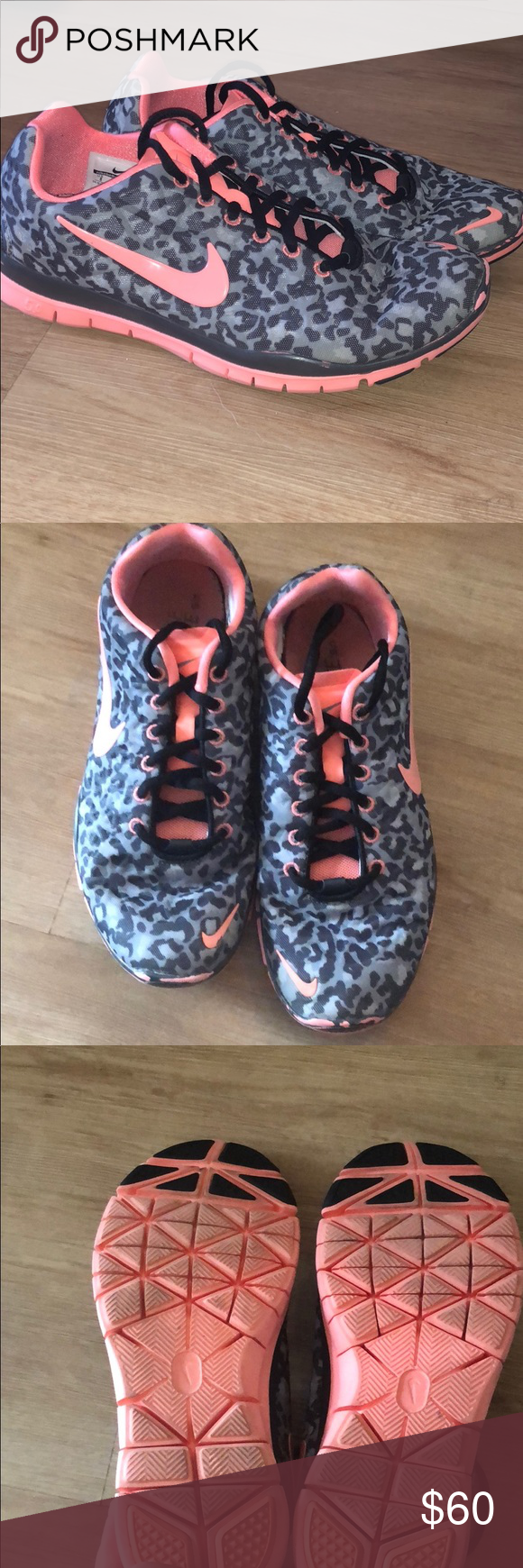 check out c7dc6 10c85 Nike Free run 5.0 Snow leopard print. Cute and fun Nike Free running shoe.  Only worn a handful of times. In great condition. Nike Shoes Sneakers