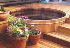 Photo of hot tub designs wooden – Bing Images