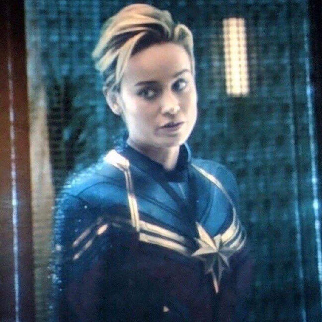 Favourite Captain Marvel Look Follow Brielars0n For More Brielarson Brielarson Brielarsonfan Captainm Short Hair Styles Lesbian Hair Captain Marvel