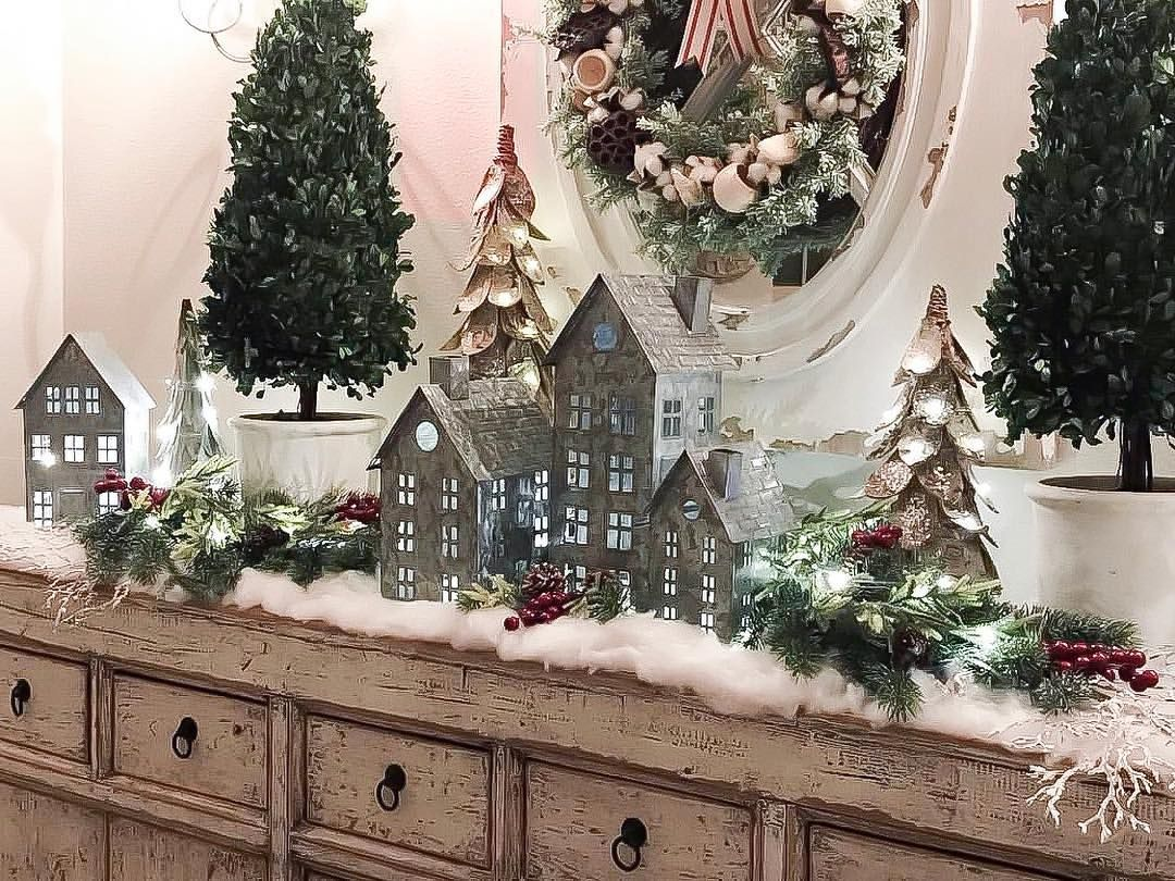The Stoker House Jeanine On Instagram Friends I Am Still Obsessed With These Galvanized Christmas Vignettes Holiday Decor Christmas Christmas Centerpieces