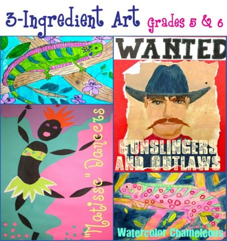 Matisse inspired Dancers  Gunslingers and Outlaws poster