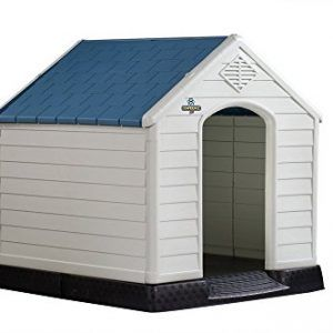 Confidence Pet Plastic Dog Kennel Outdoor House Plastic Dog