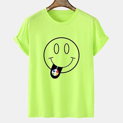 Men's Unisex Tee T shirt Hot Stamping Graphic Prints Grimace Sugar Plus Size Short Sleeve Casual Tops 100% Cotton Basic Fashion Designer Comfortable Blue Blushing Pink Orange