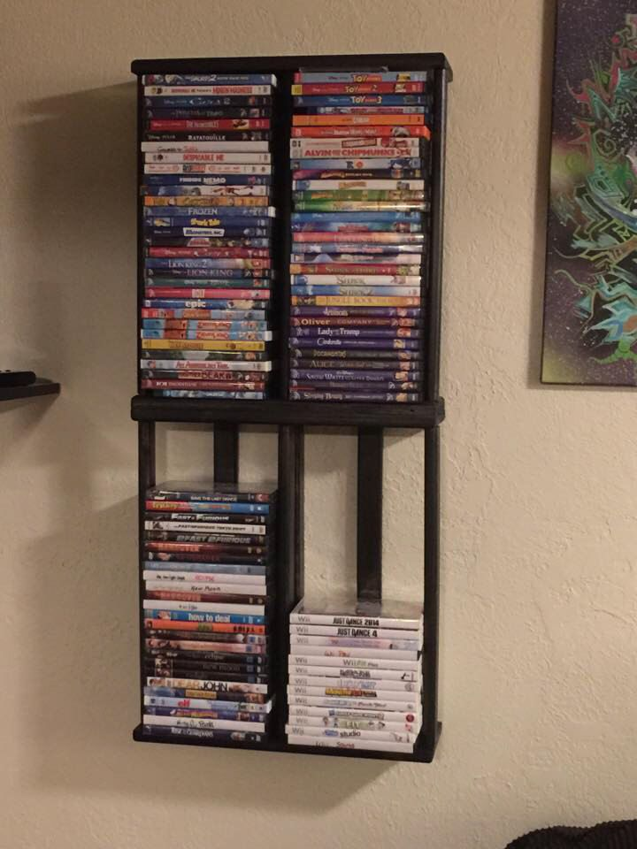 Pin By Dustin Jones On Home Sweet Home Dvd Storage