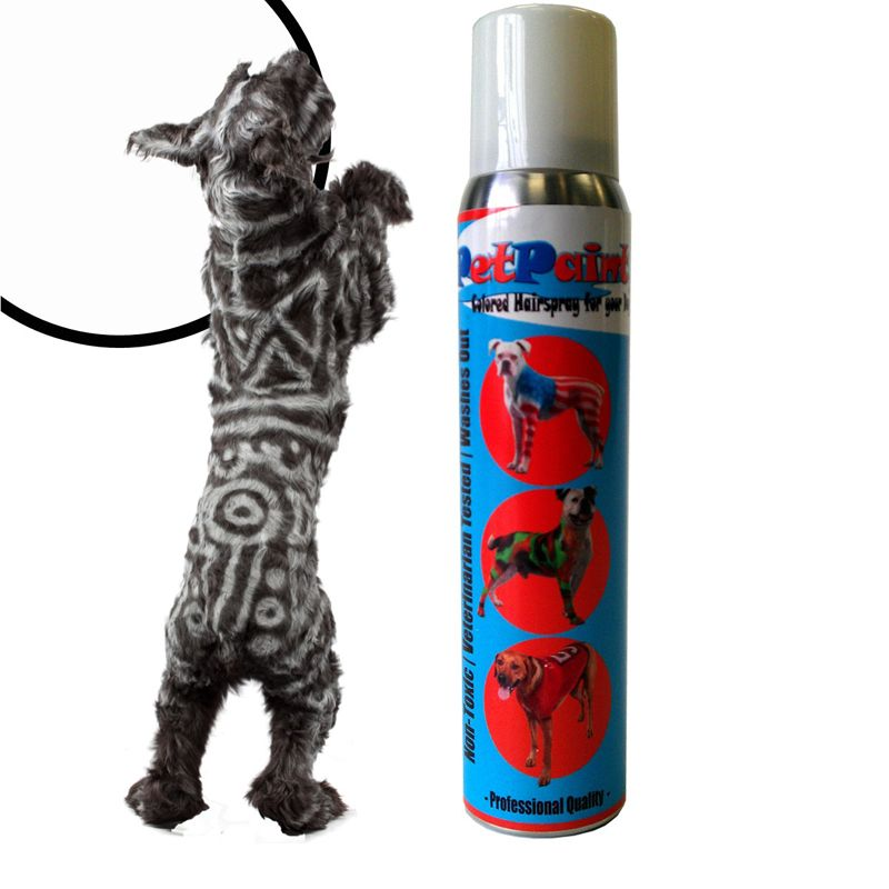 Petpaint Color Dog Hair Spray Whippet White Need Like Blood Red