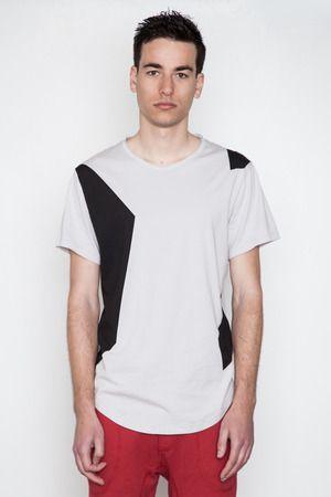 ISAORA - Color Block Printed T-Shirt, $65
