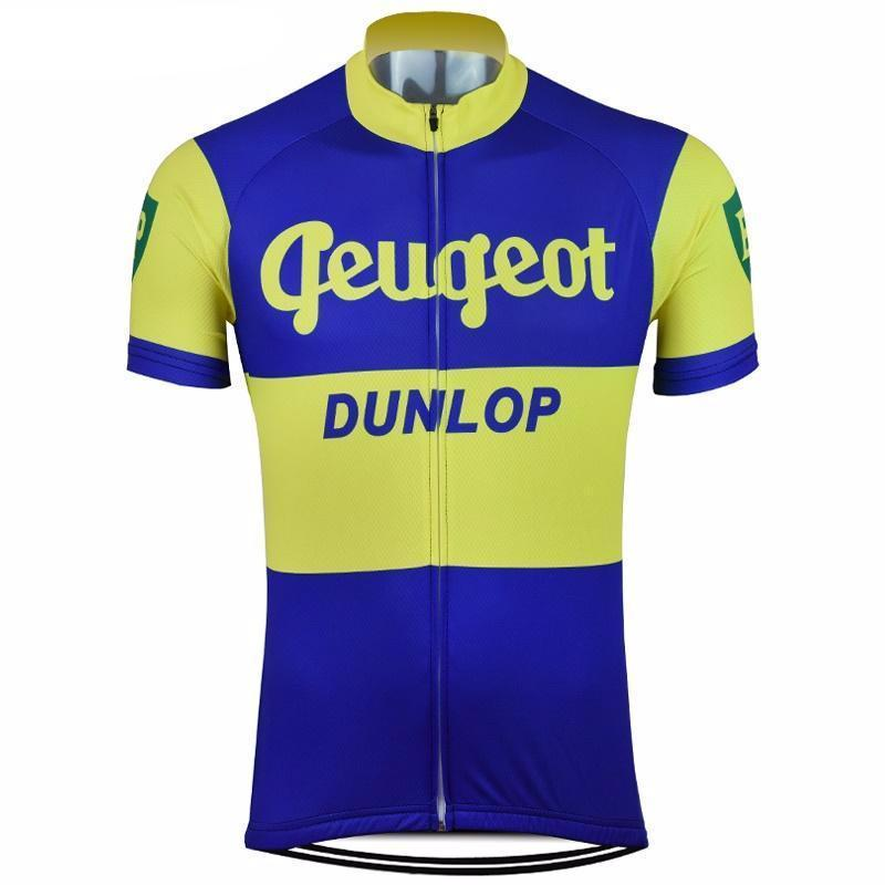 Retro 1961 Peugeot Dunlop Bp Cycling Jersey Cycling Outfit