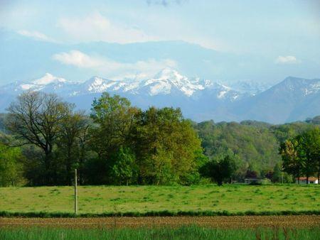 Gers, Les Pyrénées.