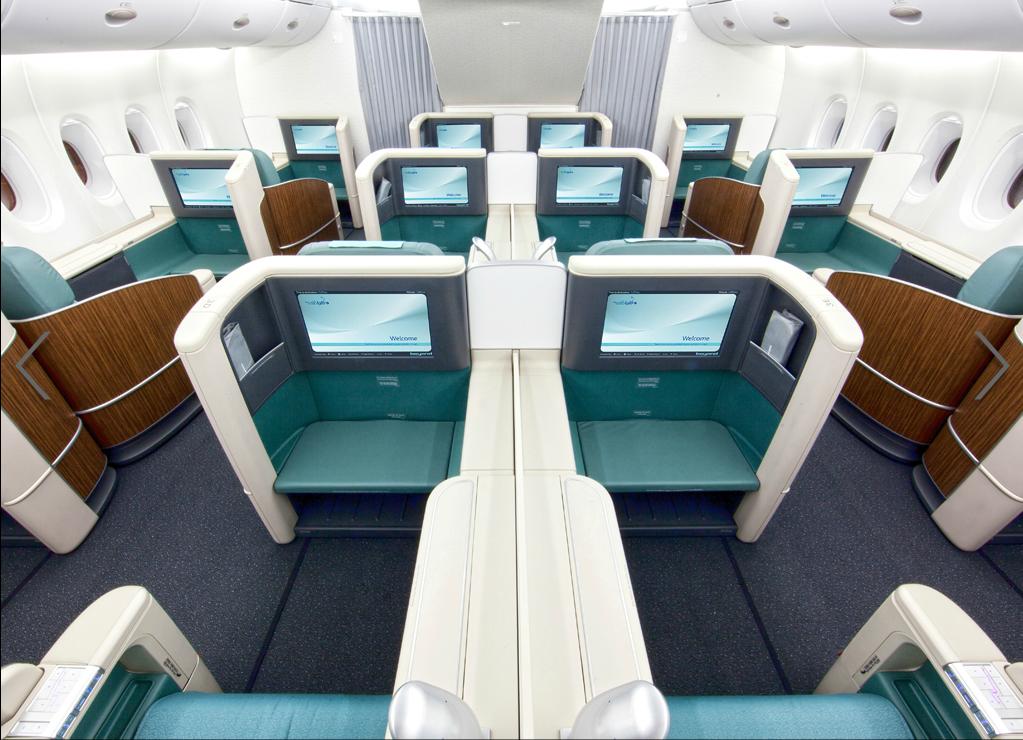 Korean Air Airbus A380 800 First Class Airplane Interior Aircraft Interiors Best First Class Airline