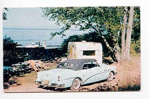vintage travel trailer postcards | visit ebay com | camping