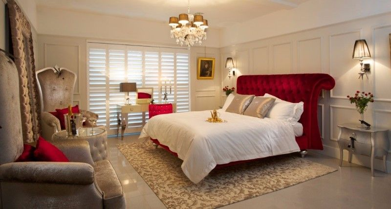 Red Luxury Bedrooms luxury dream bedroomsjuliettes interiors | red headboard