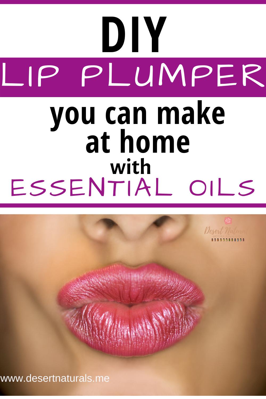 DIY Lip Plumper Recipe in 2020 Diy lip plumper, Lip