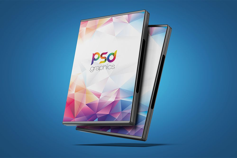 Download DVD Box Cover Mockup Free PSD Showcase your CD Cover, CD - psd album cover template