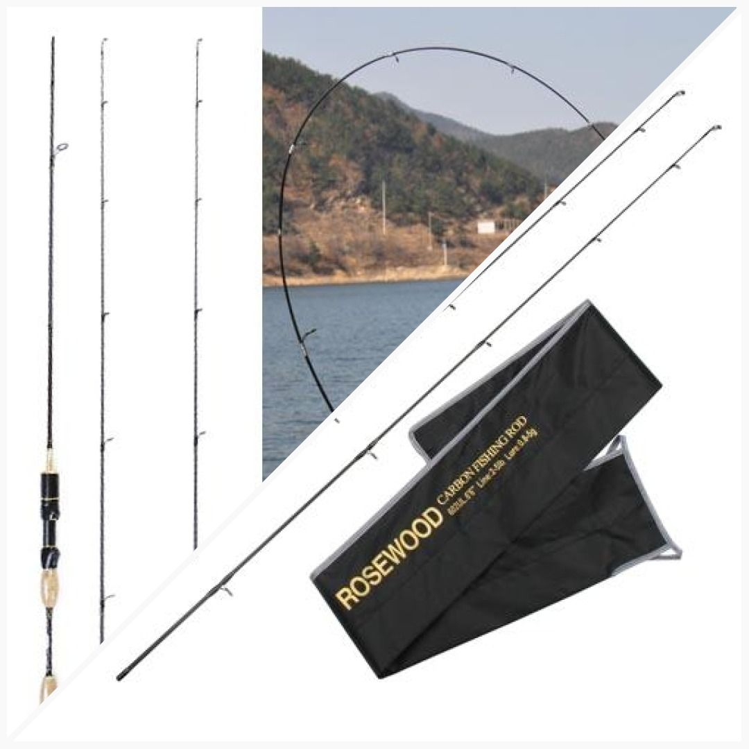 1.8m 0.8 5g Lure Weight Ultralight Spinning Rods #baitcast