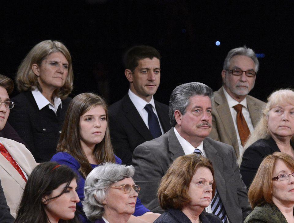 Paul Ryan Sitting Among Undecided Voters At Town Hall Debate Debate Memes Funny Memes Memes
