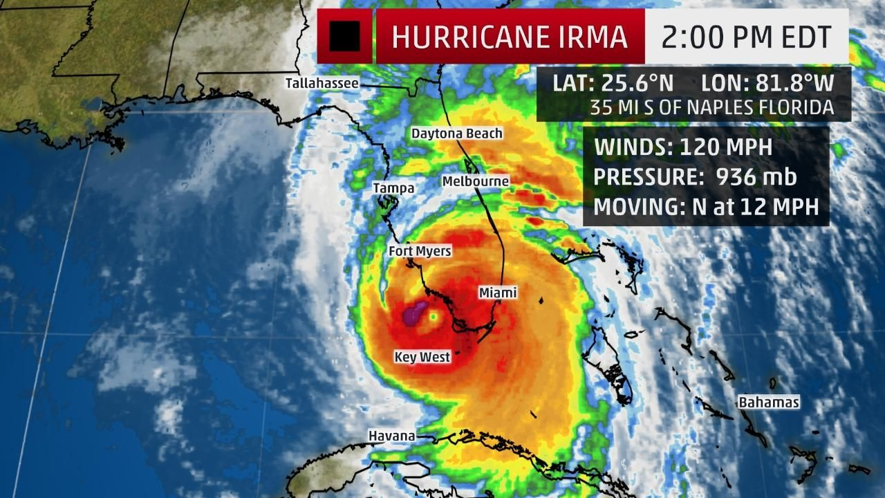 Hurricane Irma Makes Second Florida Landfall At Marco Island Catastrophic Strike On Southwest Florida Underway The Weather Channel Florida Tornado Hurricane Miami Key West
