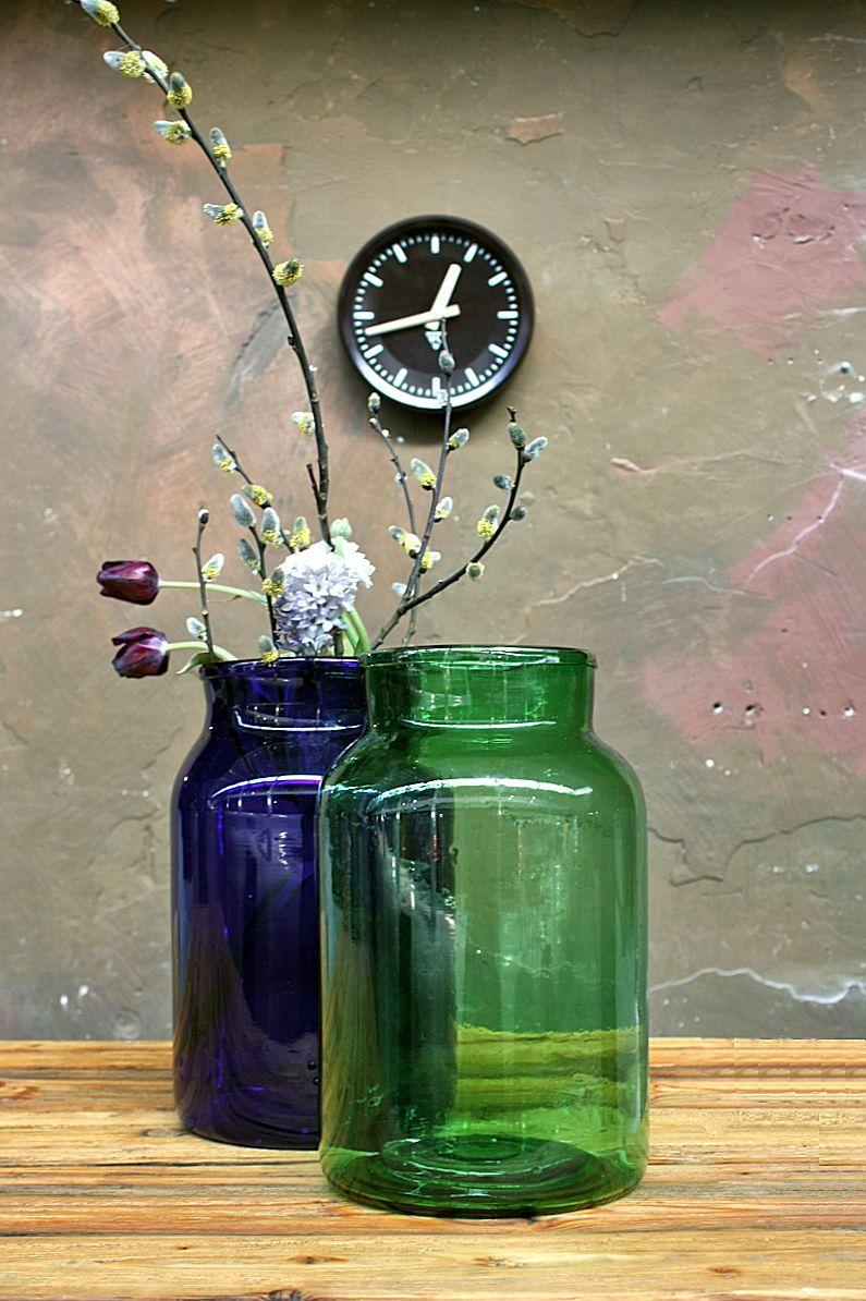 bunte glasvasen aus ungarn works berlin restauriert und verkauft original vintage. Black Bedroom Furniture Sets. Home Design Ideas
