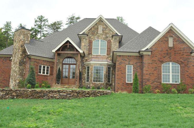 brick stone exteriors homes