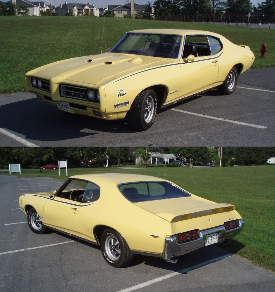 1969 Pontiac Gto Judge Goldenrod Yellow With The Correct Stripe Pkg The Other Is Kind Of Annoying Pontiac Gto Classic Cars Muscle Gto