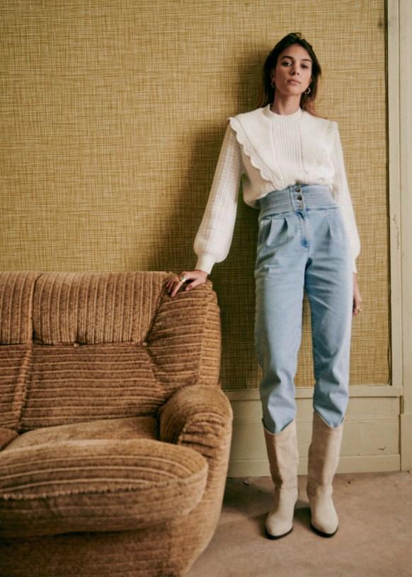 Sezane Sidney Trousers Sezane Everyday Casual Outfits Fashion Trending Board