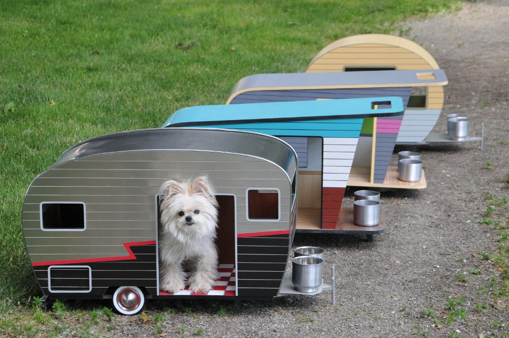 Cool Dog House Upgrade Instantly Endearing Pet Trailer Design Cool Dog Houses Camper Dog House Dog House