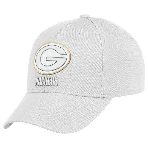 NFL Green Bay Packers End Zone White Structured Flex Hat - Tw90Z ... 72a2c0c1269