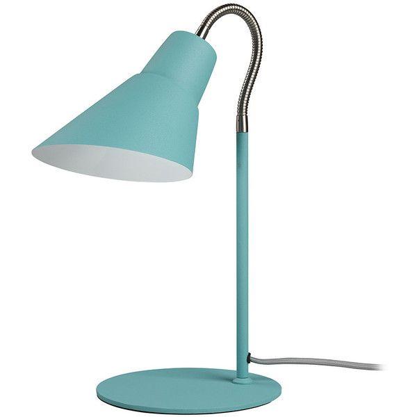 Wild U0026 Wolf Gooseneck Lamp   French Blue (110 CAD) ❤ Liked On Polyvore