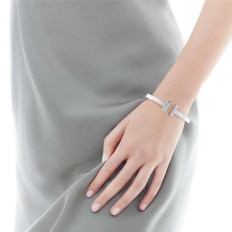 d46afff122fd Tiffany T square bracelet in sterling silver